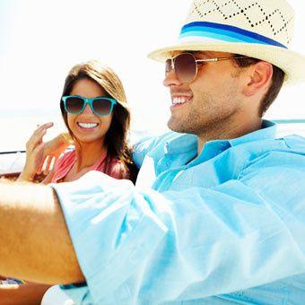 top florida hotels honeymoon couple driving
