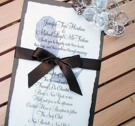 Tmx 1255375203036 COCO01 Mount Vernon wedding invitation