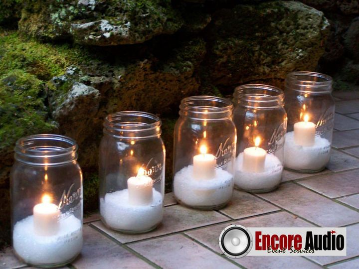 encore audio ball jars