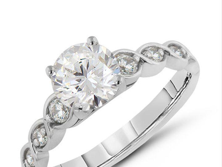 Tmx 1414687193329 Ed71201 Rd 1ct Morristown wedding jewelry