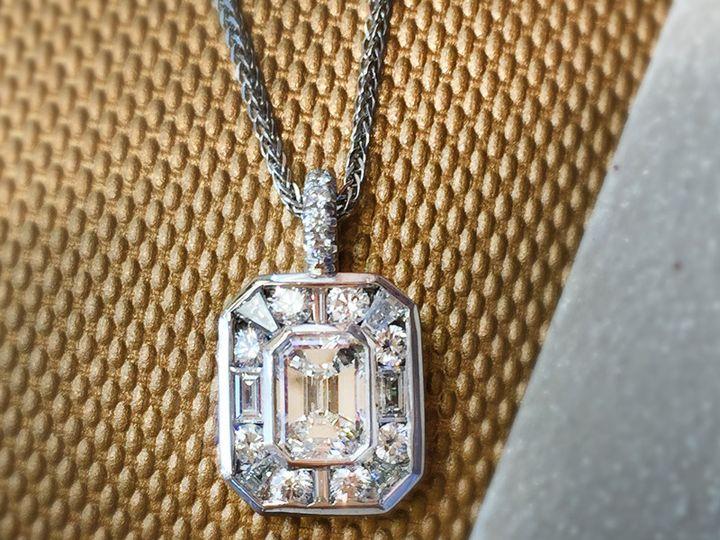 Tmx 1508341533964 Braun Sm Necklace V1 Morristown wedding jewelry