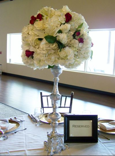Tall flower centerpiece