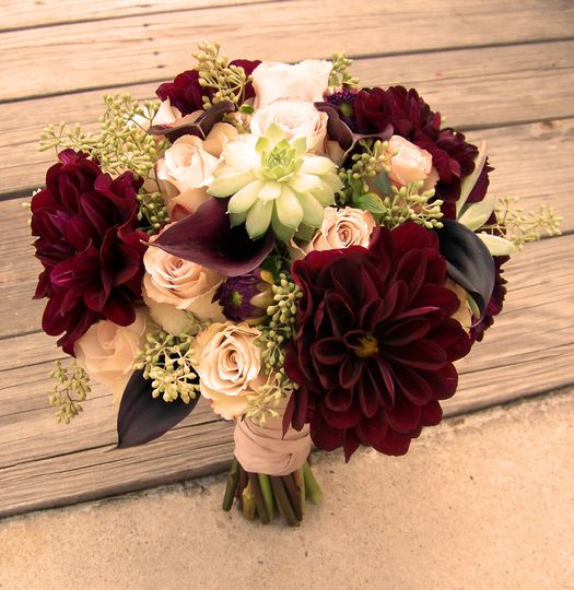 Fall theme bouquet