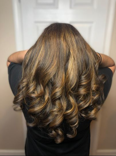 Haircut and color by Style by Fiz