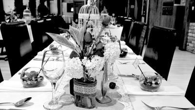 Reception table setup