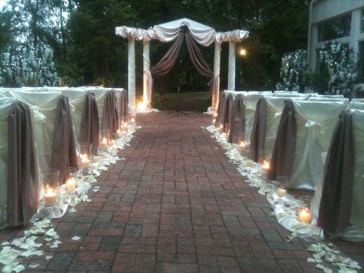 Nature Garden wedding ceremony