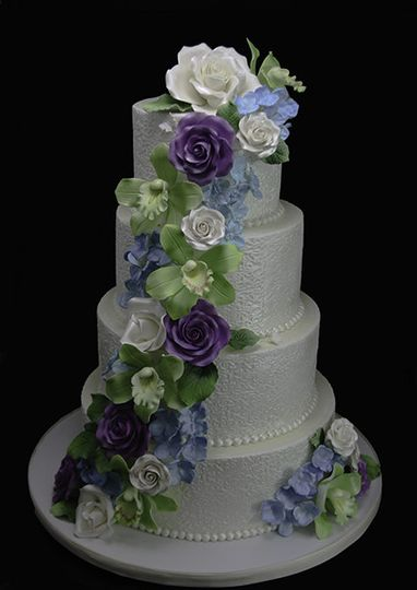 800x800 1440614071213 lace wrapped floral cascade wedding cake