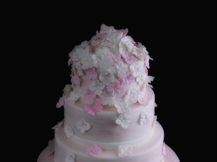 Tmx 1317732611812 5TierWedding Long Island City, New York wedding cake