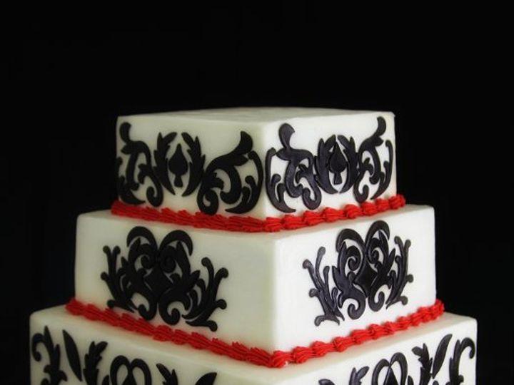 Tmx 1317733084181 DamaskCake Long Island City, New York wedding cake
