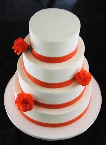 Tmx 1349294005033 OrangeRoseBandCake Long Island City, New York wedding cake