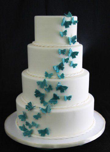 Tmx 1354812389973 ButterfliesalaCarte Long Island City, New York wedding cake