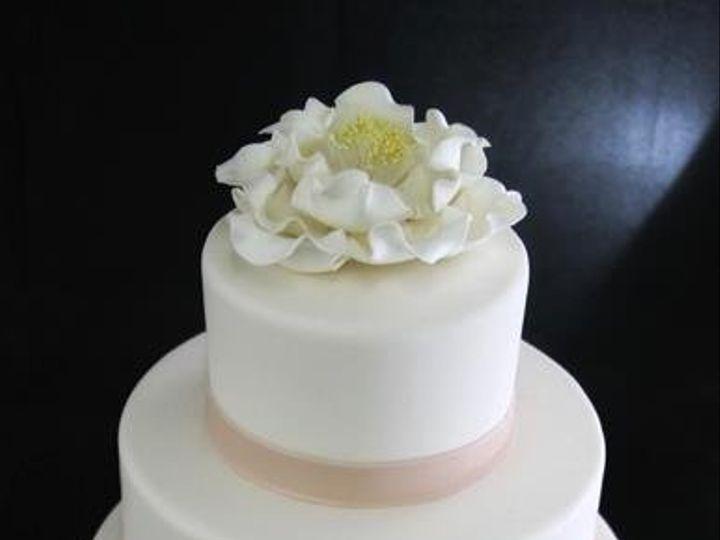 Tmx 1354812437729 ChampangePeonyWeddingCake Long Island City, New York wedding cake