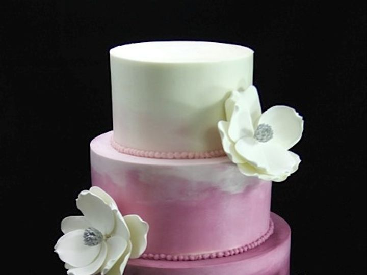 Tmx 1420744392296 Purple Ombre Wedding Cake Long Island City, New York wedding cake