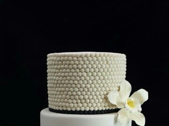 Tmx 1433364552882 Silver  Pearl Long Island City, New York wedding cake