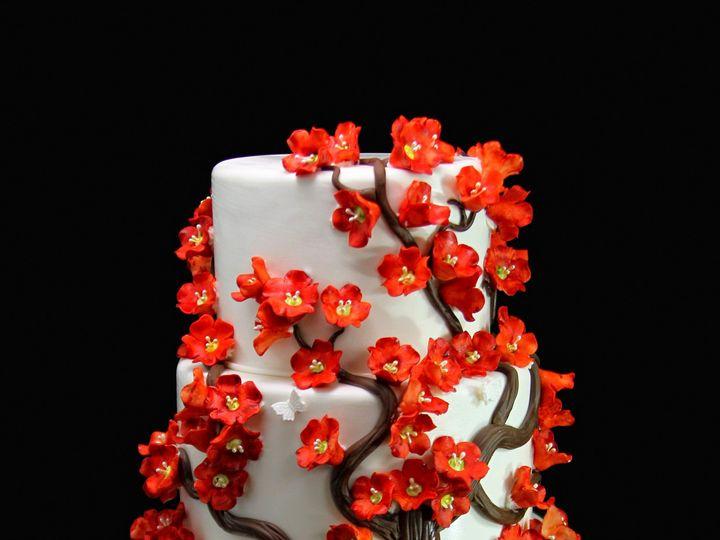 Tmx 1433365319721 Plum Blossom Tree Cake Long Island City, New York wedding cake