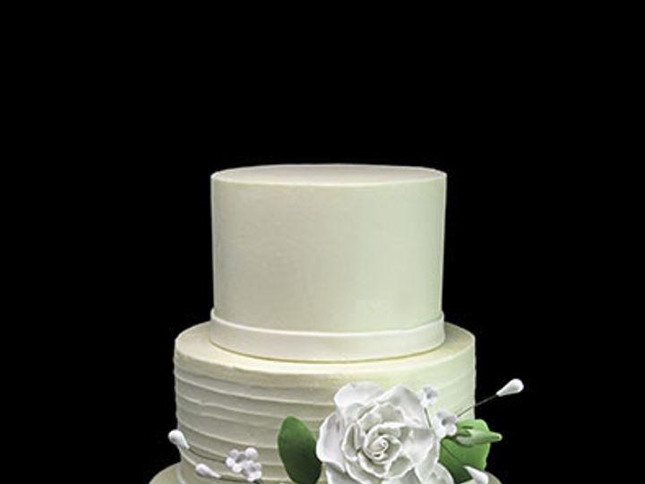 Tmx 1443811412427 White Roses Weddding Cake Long Island City, New York wedding cake