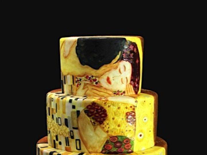Tmx 1449512019924 The Kiss Long Island City, New York wedding cake