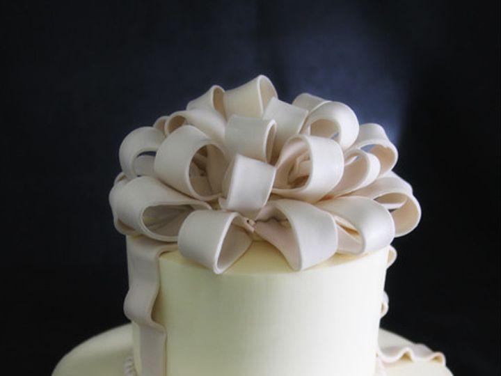 Tmx 1449519890729 Bow  Pearl Wedding Long Island City, New York wedding cake