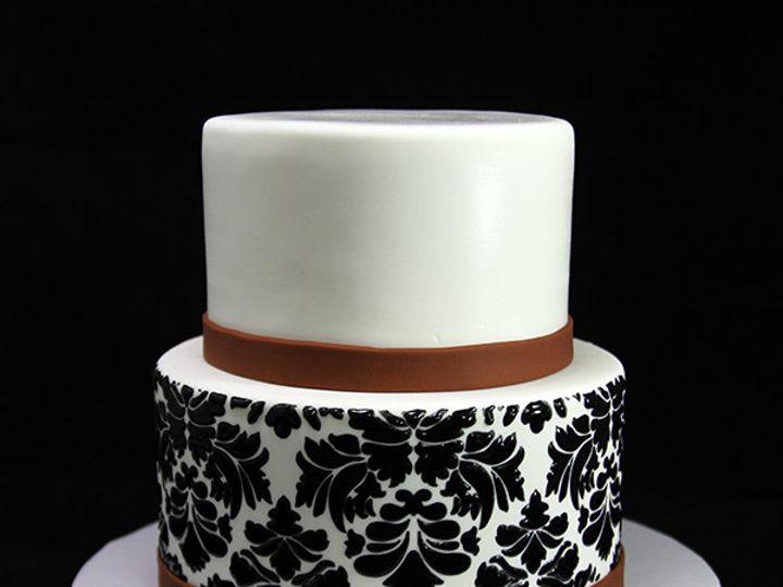 Tmx 1449519970294 Damask Cake Long Island City, New York wedding cake