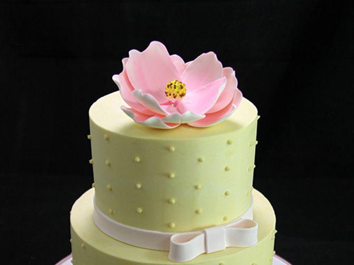 Tmx 1449520493768 Swiss Dot Cake Long Island City, New York wedding cake