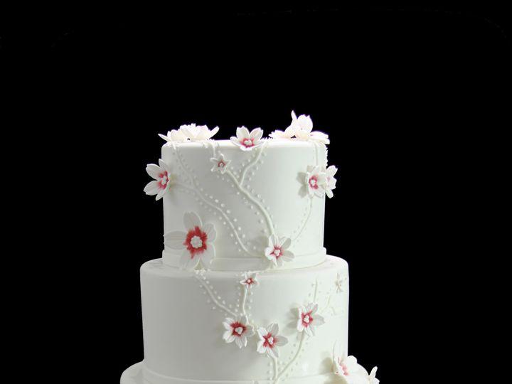 Tmx 1459533905859 Cascading Custom Flowers Wedding Cake Long Island City, New York wedding cake