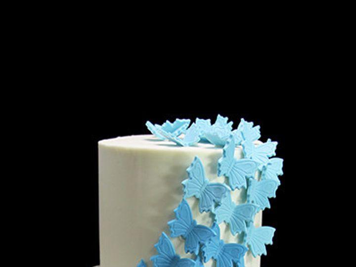 Tmx 1459534218632 Butterfly Cascade Wedding Cake Thumb Long Island City, New York wedding cake