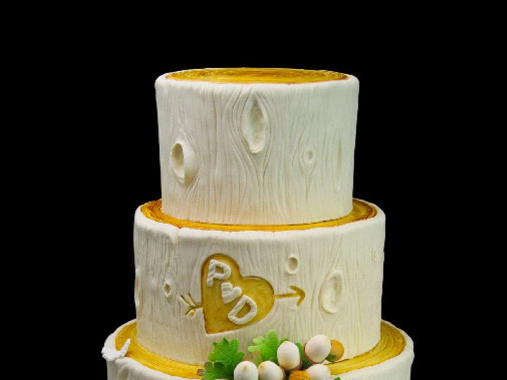 Tmx 1478200805010 Wood You Mary Me With Acorn Cake Long Island City, New York wedding cake