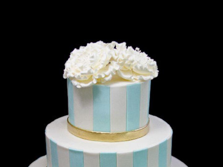 Tmx 1479492170537 Vertical Stripes Peony Cake Long Island City, New York wedding cake