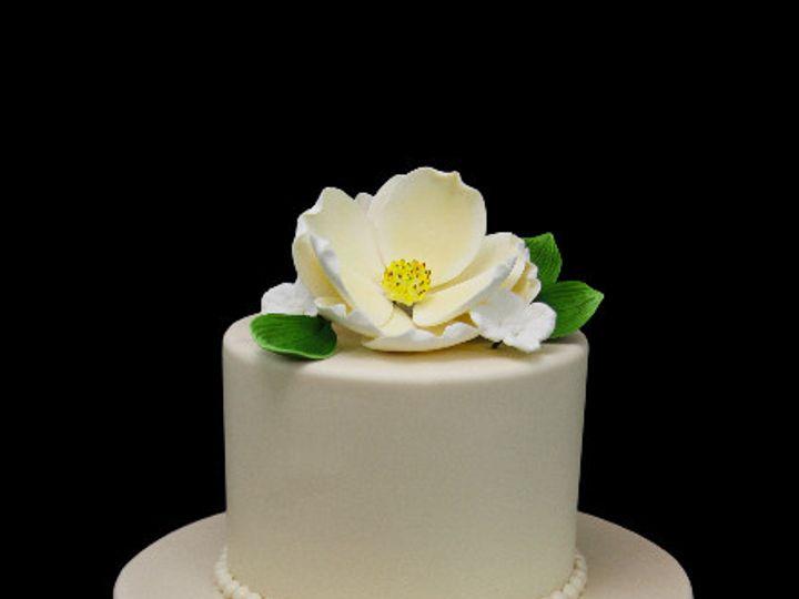 Tmx 1513198422092 Magnolia Petite Wedding Cake Long Island City, New York wedding cake