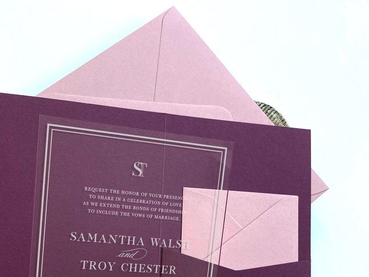 Tmx Gi192b 51 1032437 159797734269110 Jersey City, NJ wedding invitation