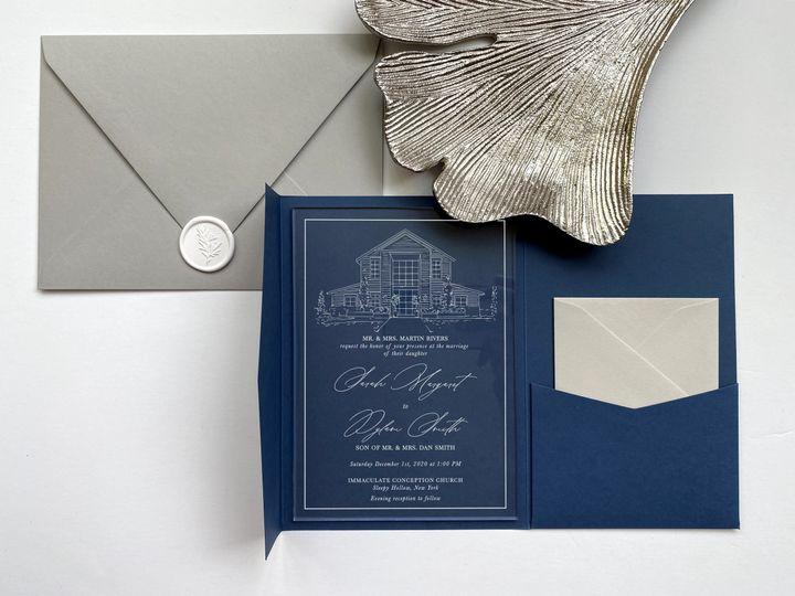 Tmx Gi197b 51 1032437 159797726548581 Jersey City, NJ wedding invitation