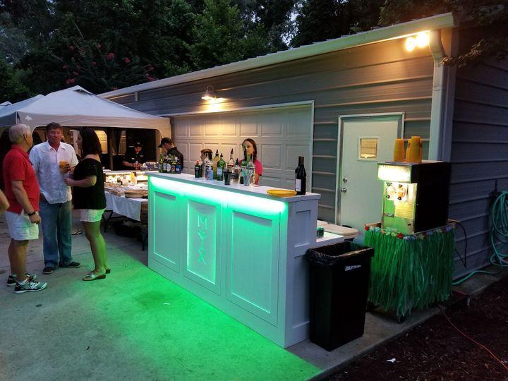 MIX bar booth