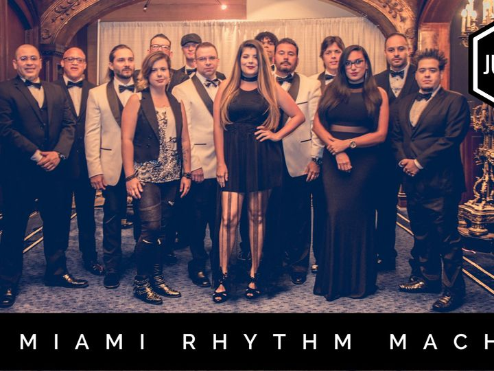 Tmx Juniors Band The Miami Rhythm Machine 51 124437 160868166370867 Miami, FL wedding band