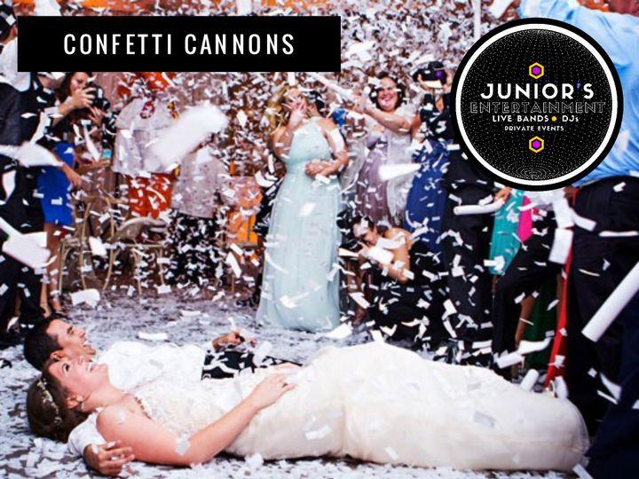 Tmx Juniors Confetti Cannons 51 124437 160868167726226 Miami, FL wedding band