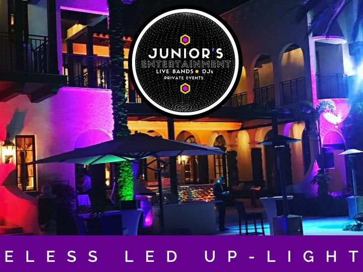 Tmx Juniors Led Wireless Uplighting Ambiance 51 124437 160868171660349 Miami, FL wedding band