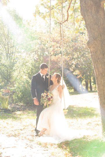 Bride/Groom Love Swing
