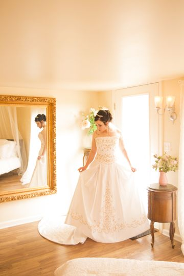 Bridal Suite before ceremony
