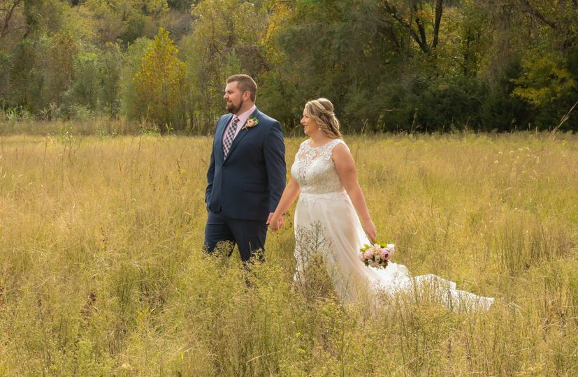 Couple in Tall Grasses