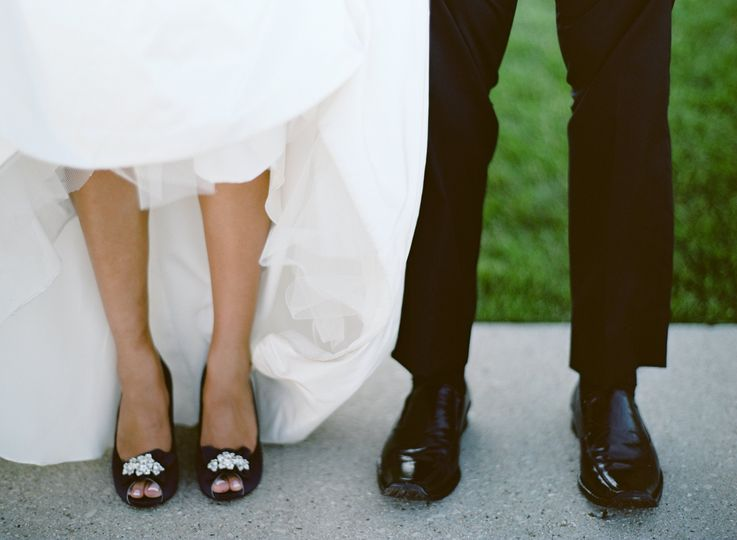 Her shoes and His shoes
