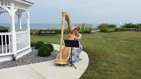 Tmx 1422122455597 Grace The Wedding Harpist Mentor wedding officiant