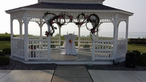 Tmx 1422122462348 Wedding Gazebo At Lodge Mentor wedding officiant