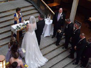 Tmx 1422122646309 Arcade Wedding 2 Mentor wedding officiant