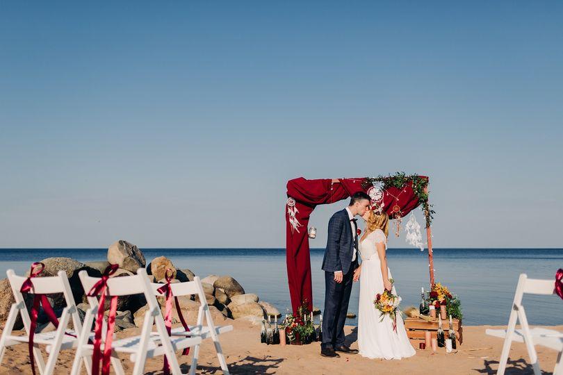 Boho style of wedding