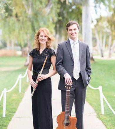 SoSco Flute & Guitar Duo at Orange Tree Golf Resort in Scottsdale, AZ