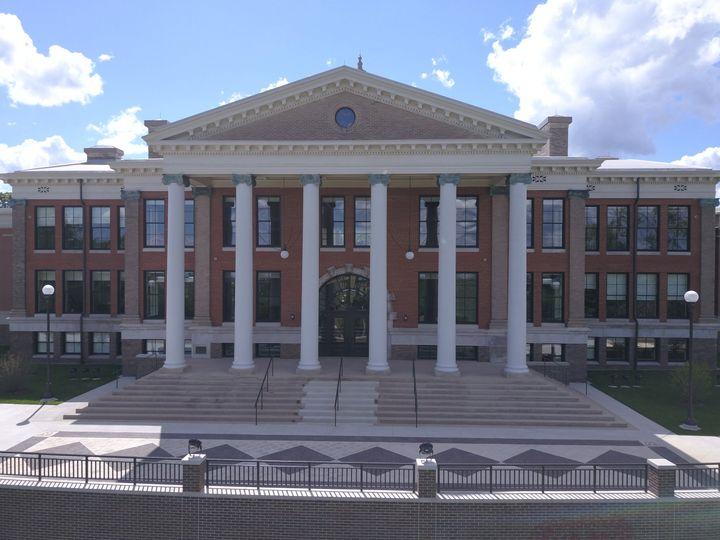 Heritage Hall - facing east