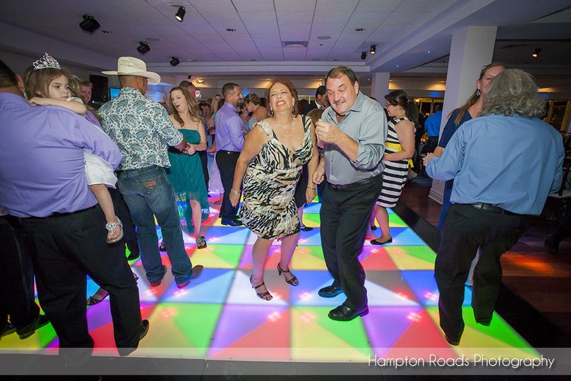 "Astro's LED Dance Floor can make anyone ""light on their feet!"""
