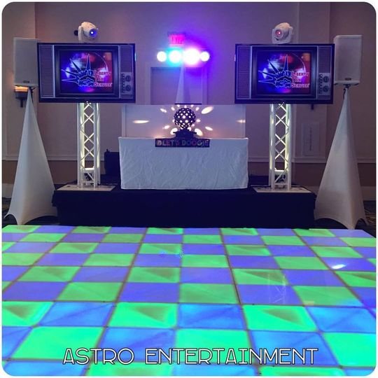 Add TVs and LED Dance Floor