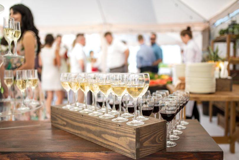 Wedding Wine Service