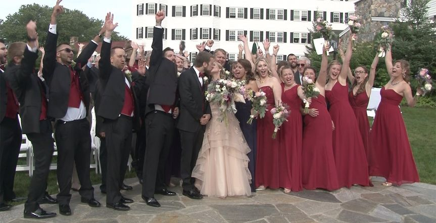 Kennebunk wedding celebration