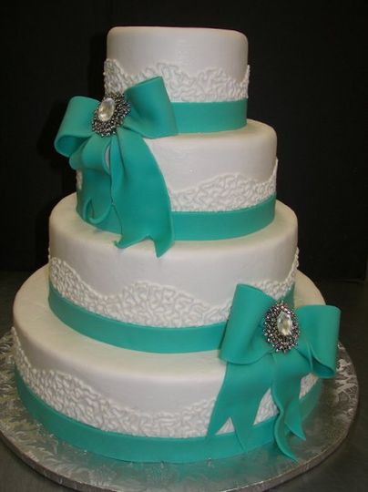 Ocean green ribbons